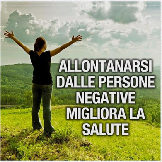 Eliminare Persone Negative